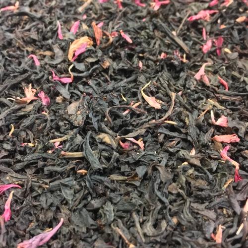 Schwarzer Tee mit Weichsel