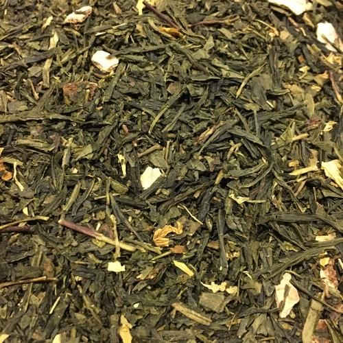Green Orange ist ein Grüner Tee mit Orange
