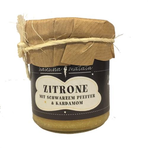Zitronenmarmelade aus Sizilien