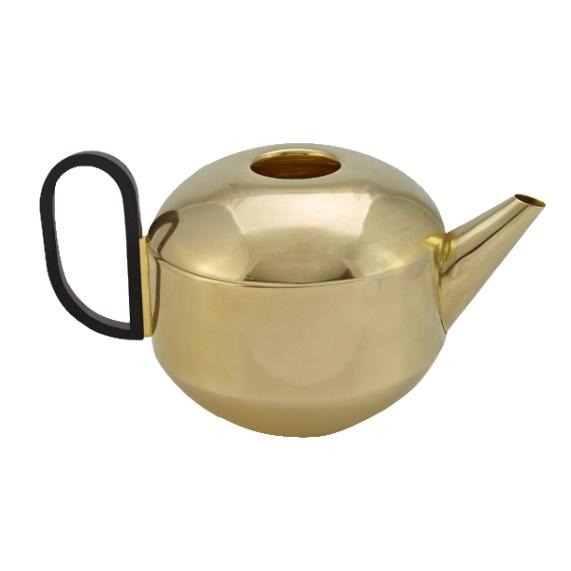 Form Teekanne Messing von Tom Dixon