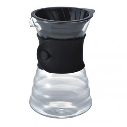 Drip Decanter V60 700 ml aus Glas mit Filter
