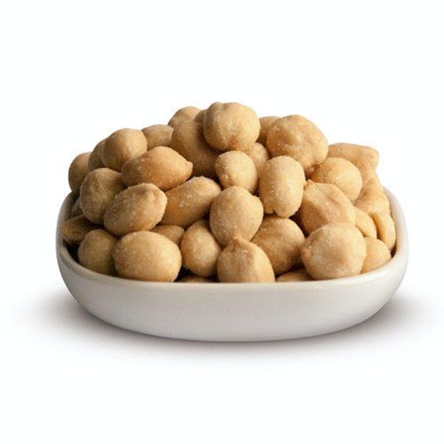 Geröstet und gesalzene Erdnüsse