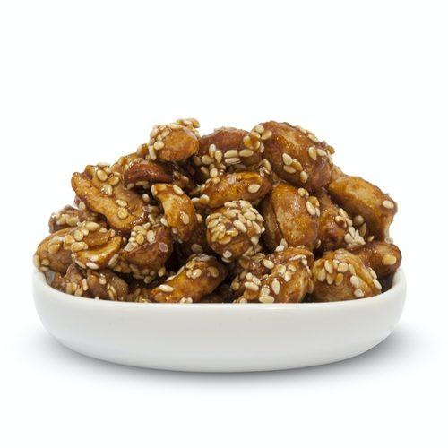 Karamellisierte Erdnüsse
