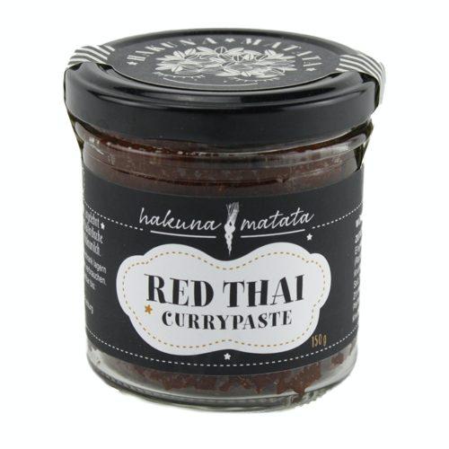 Red Thai ist eine Currypaste